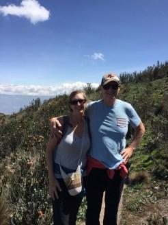 Hiking Pichincha above Quito