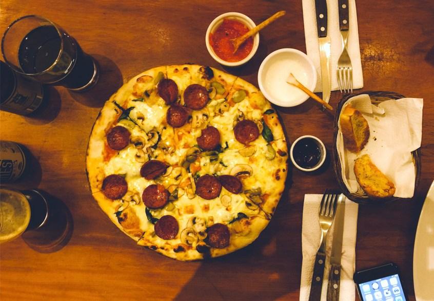 Seriously good pizza at La Bodega 138
