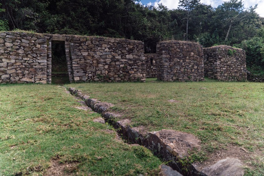 The ruins at Llactapata