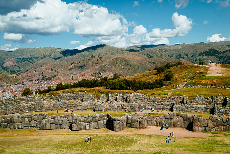 Sacsayhuaman is an impressive site just above Cusco, within walking distance.