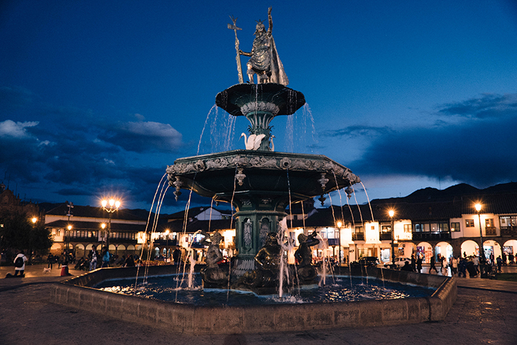 The Plaza de Armas is a great jumping off point to explore Cusco's attractions.