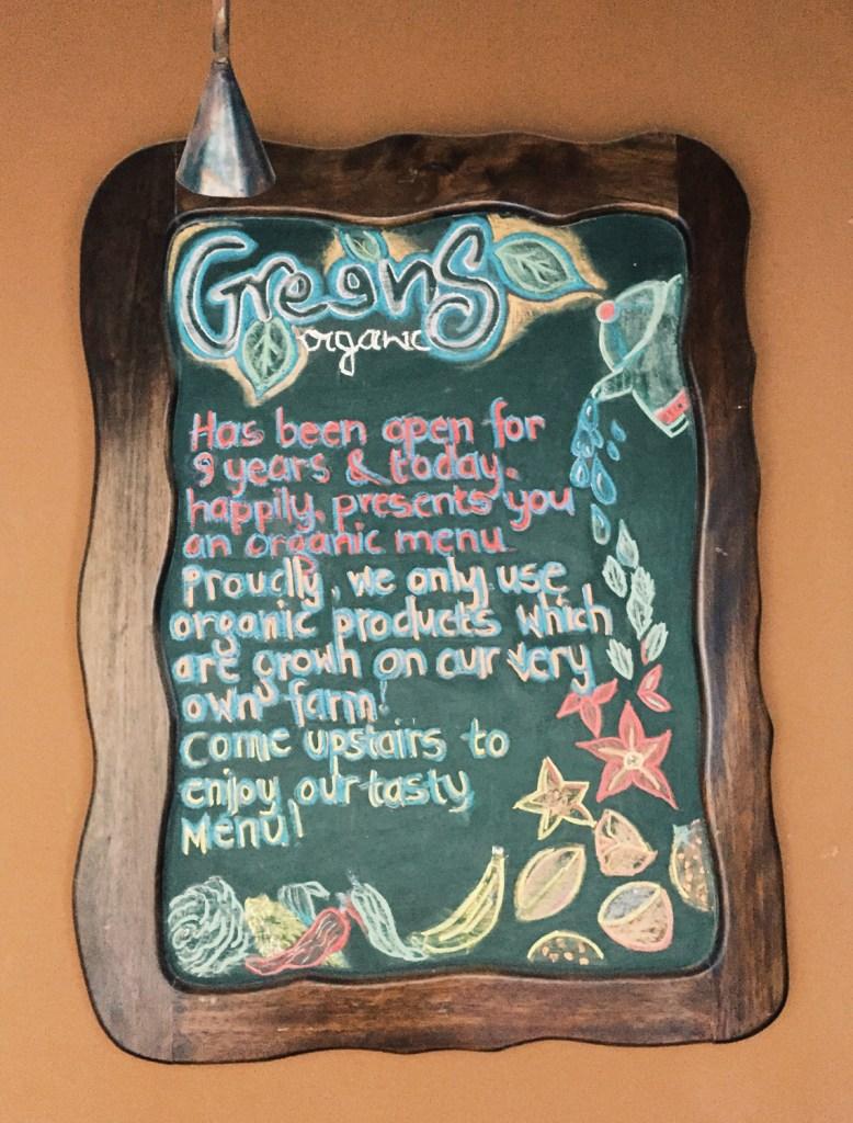 Greens Organic Cafe