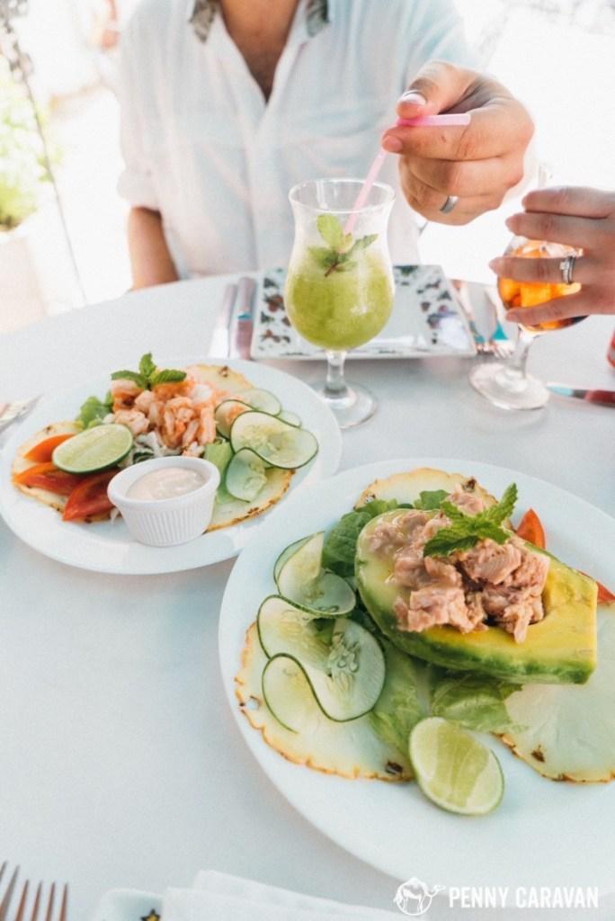 Avocado and Tuna Appetizer $5 CUC