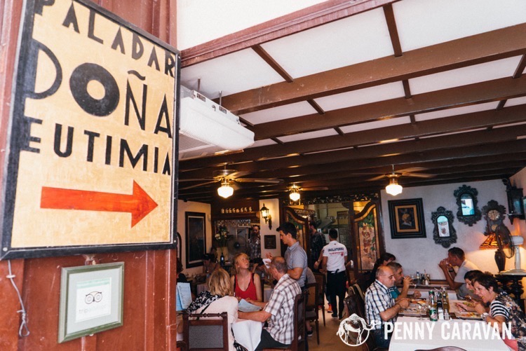 Doña Eutimia's is so popular, you may need reservations.