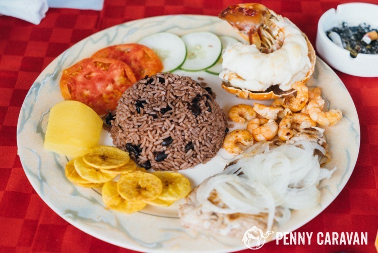 Seafood Platter at La Familia $22 CUC