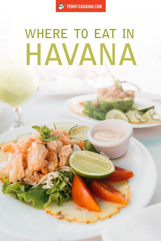 Dining In Havana | Penny Caravan