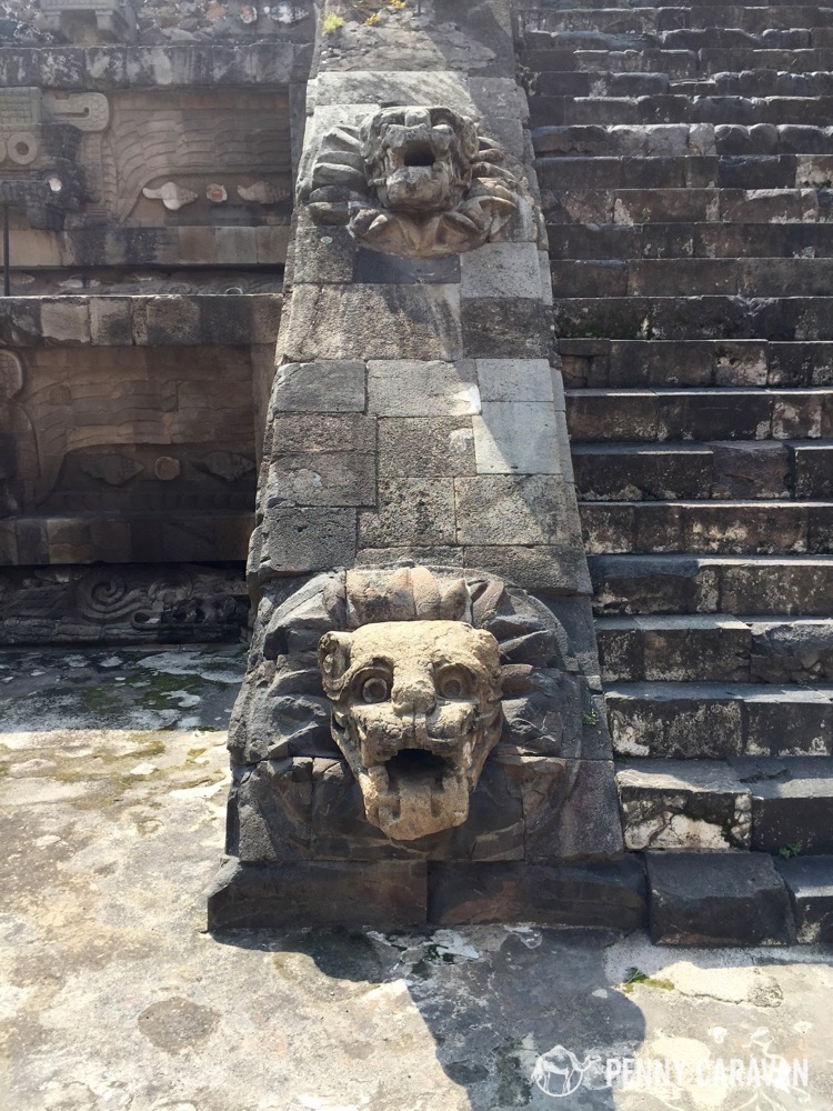 Temple of the Snake, Teotihuacan.