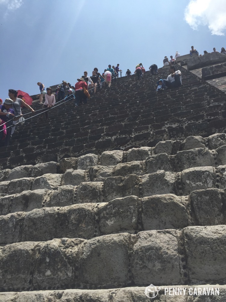 Steps are very steep!