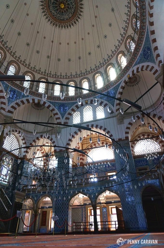 Rustem Pasha interior.