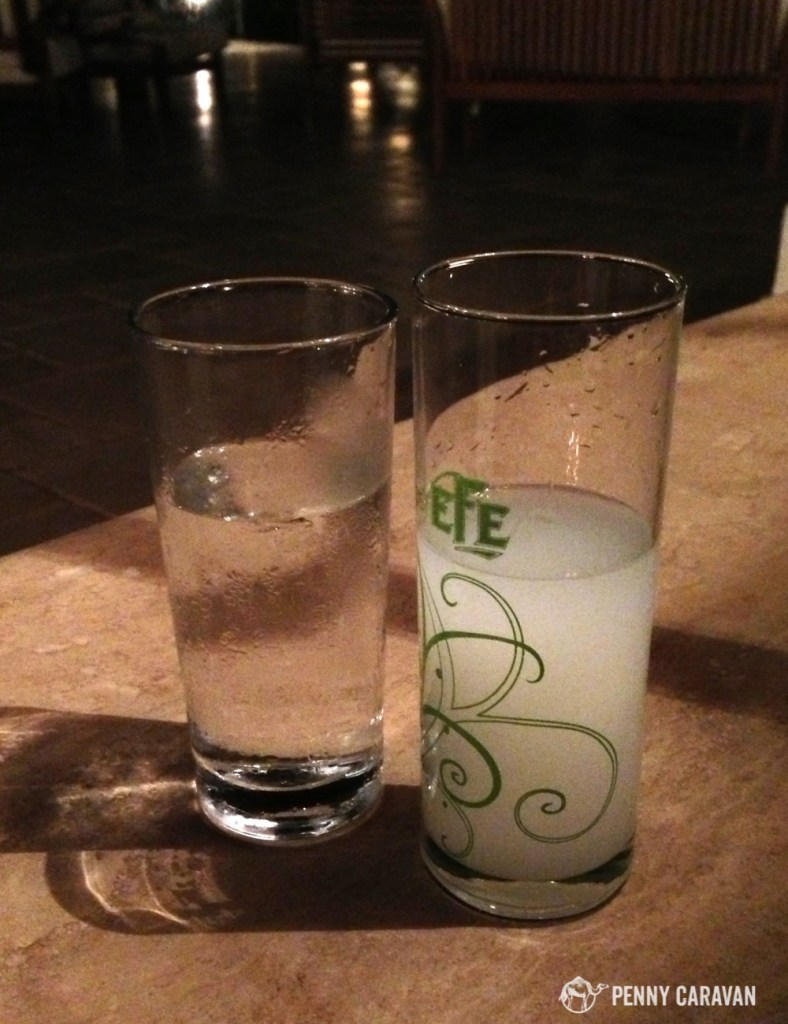 Be sure to try a glass of Raki!