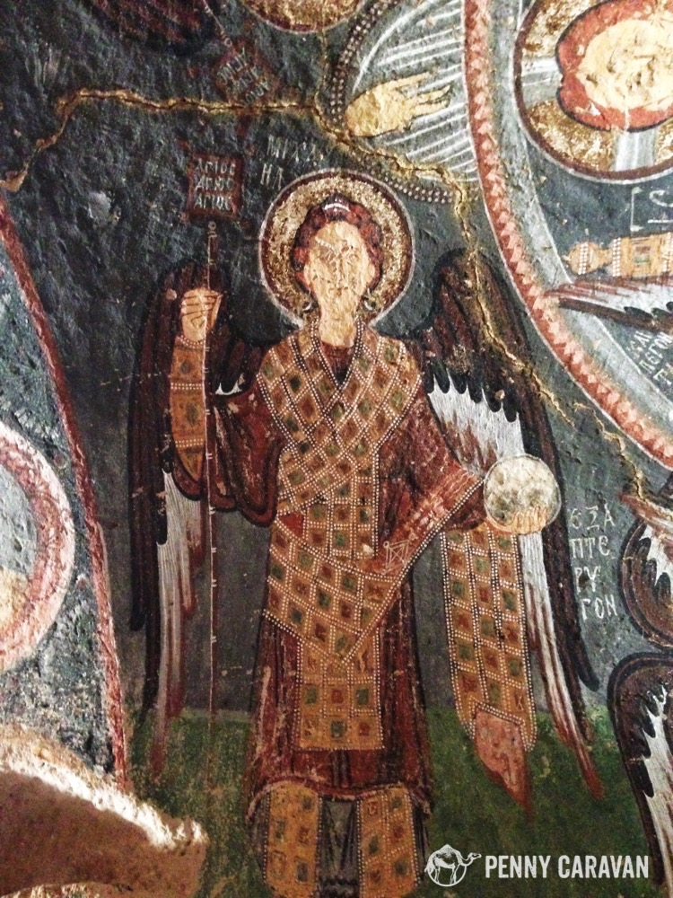 Archangel in Hacli Kilise.