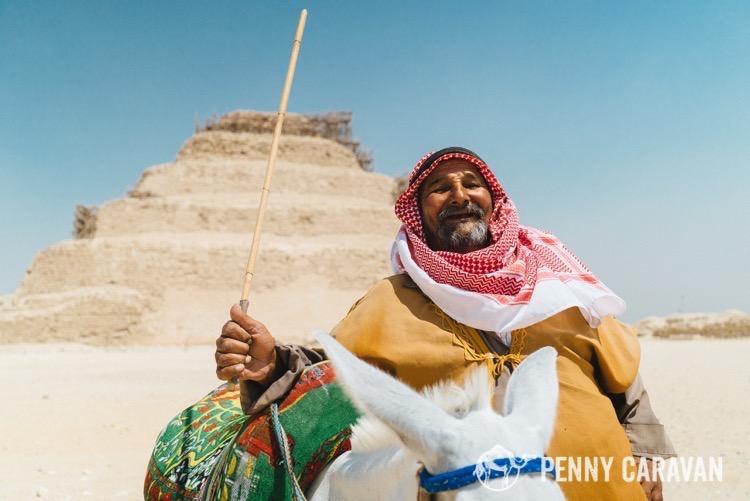 Djoser Pyramid at Dahshur