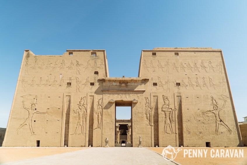 Temple of Horus at Edfu   Penny Caravan