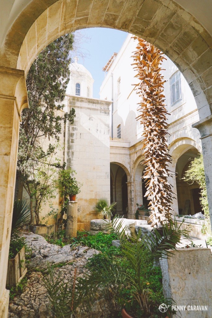 Entering the Franciscan Monastery and looking to the left, you'll see the Chapel of the Condemnation.
