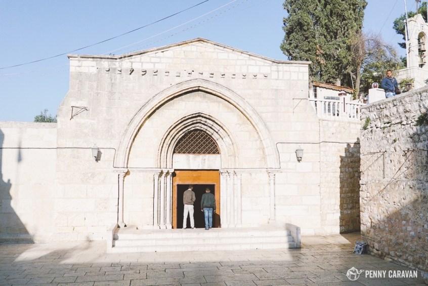 Mary's tomb.