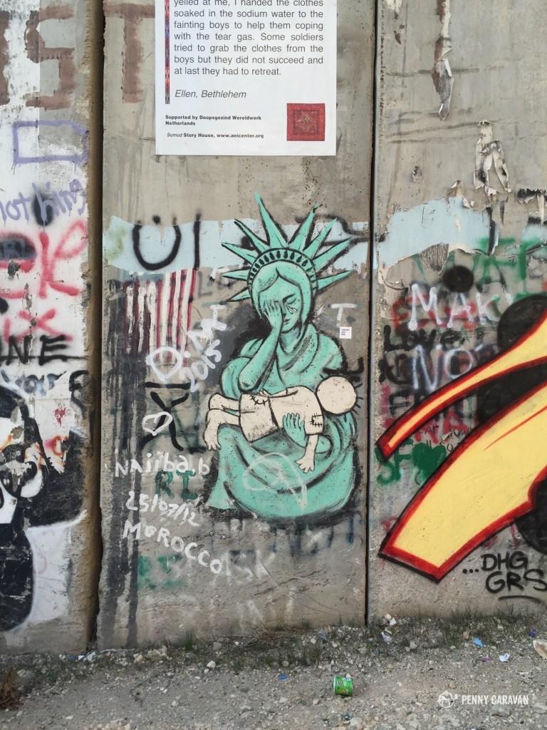 Bethlehem wall.