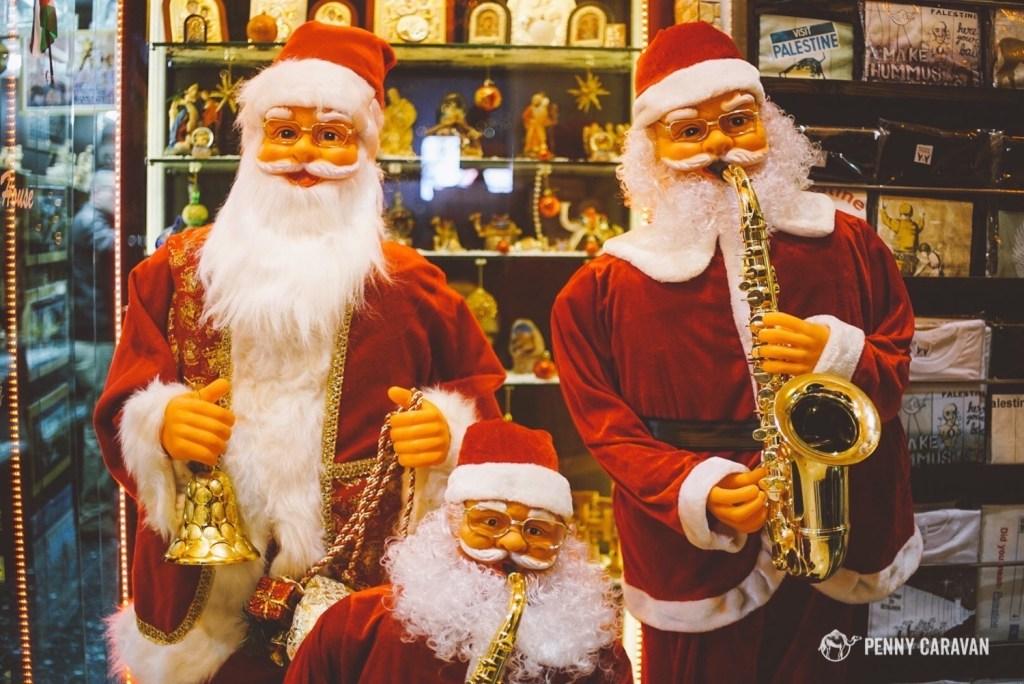 Santa stops here!