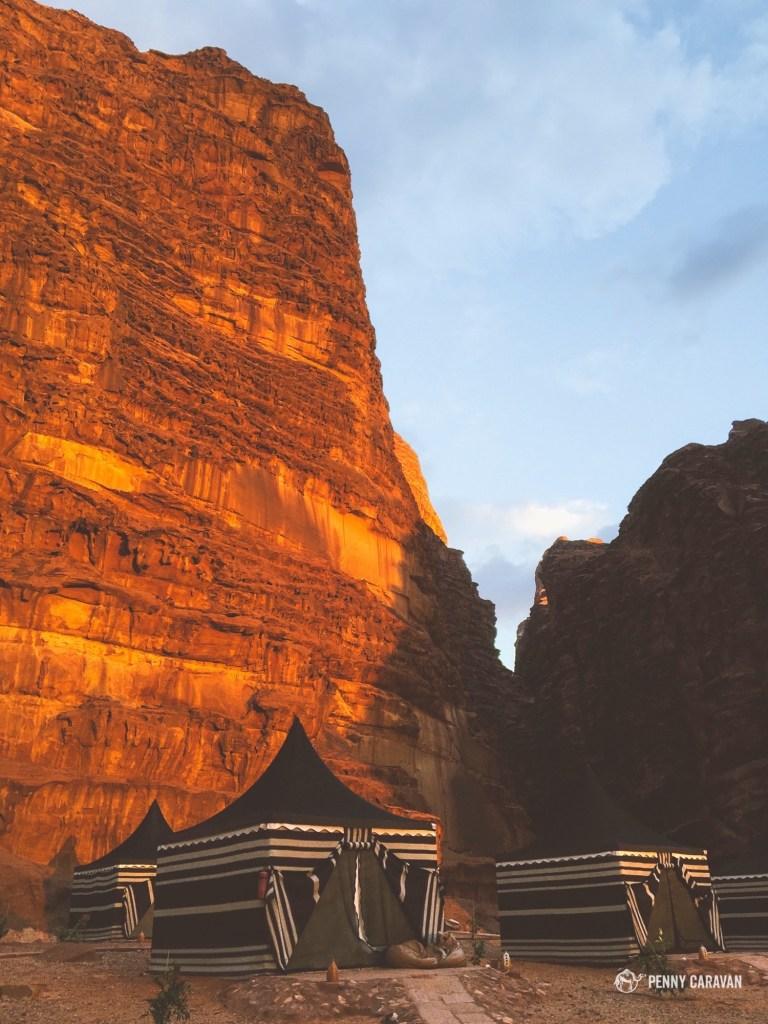 Wadi Rum Luxury Camp | Penny Caravan