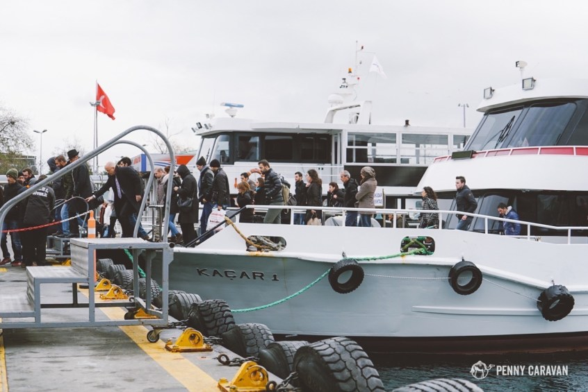Beşiktaş ferry.