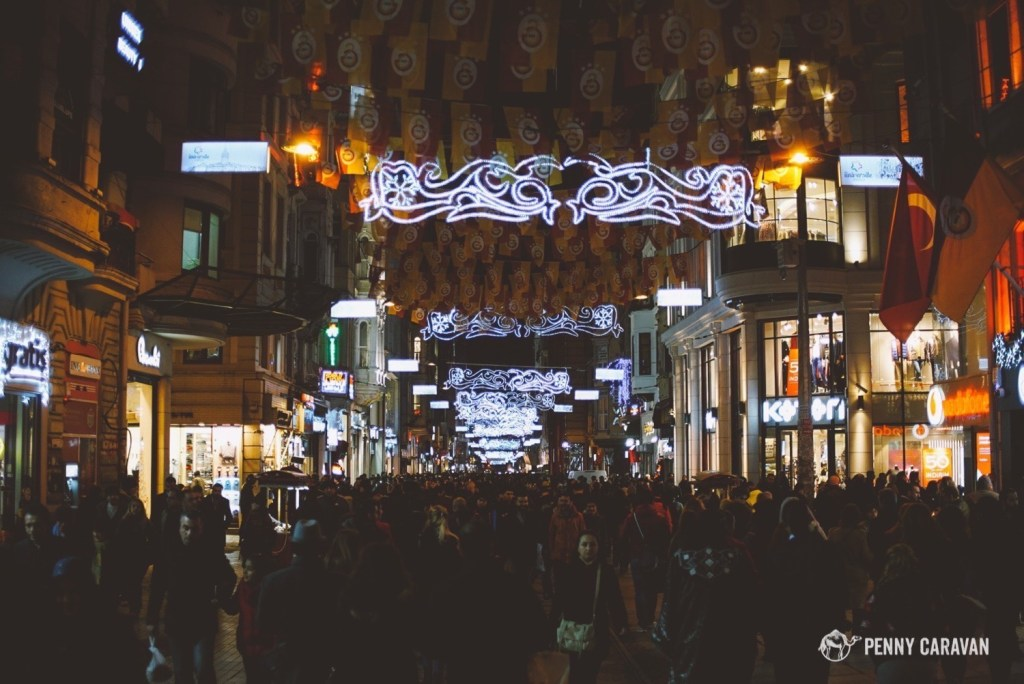 Istiklal Shopping Street