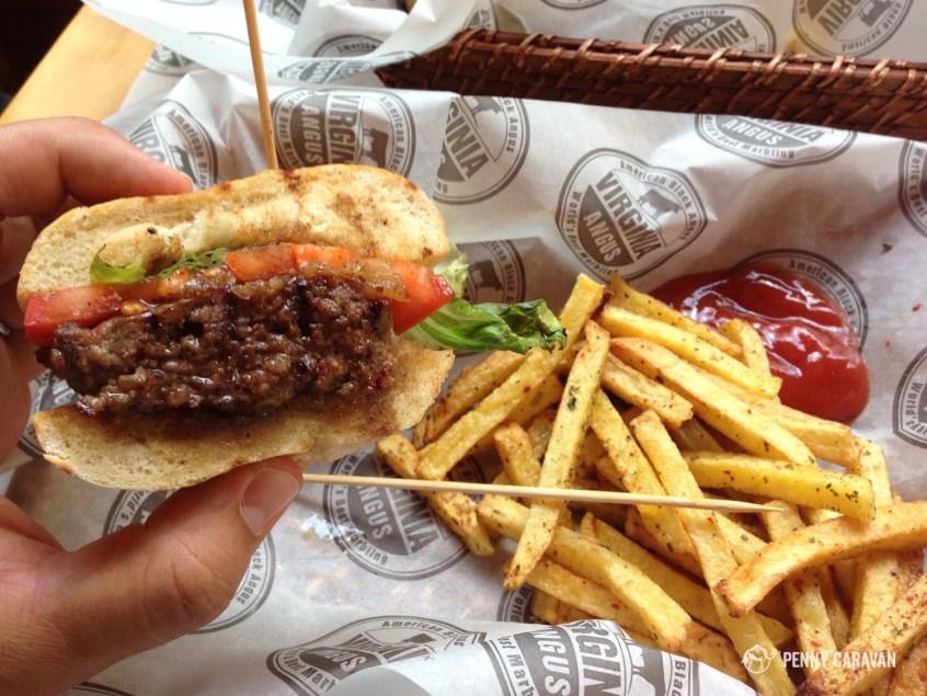 Virginia Angus, the tastiest burger in Istanbul!