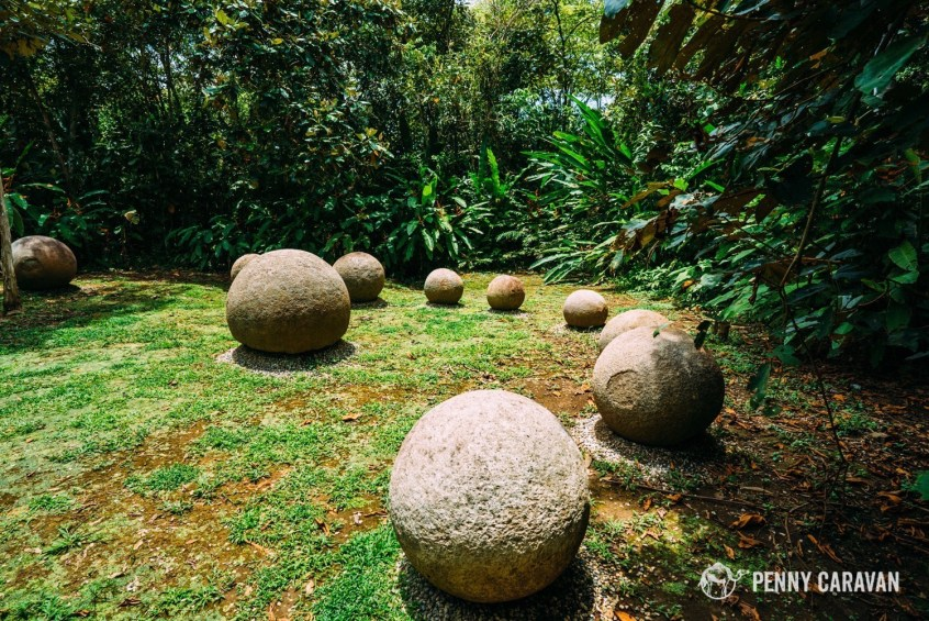 The biggest grouping of stones at the site.