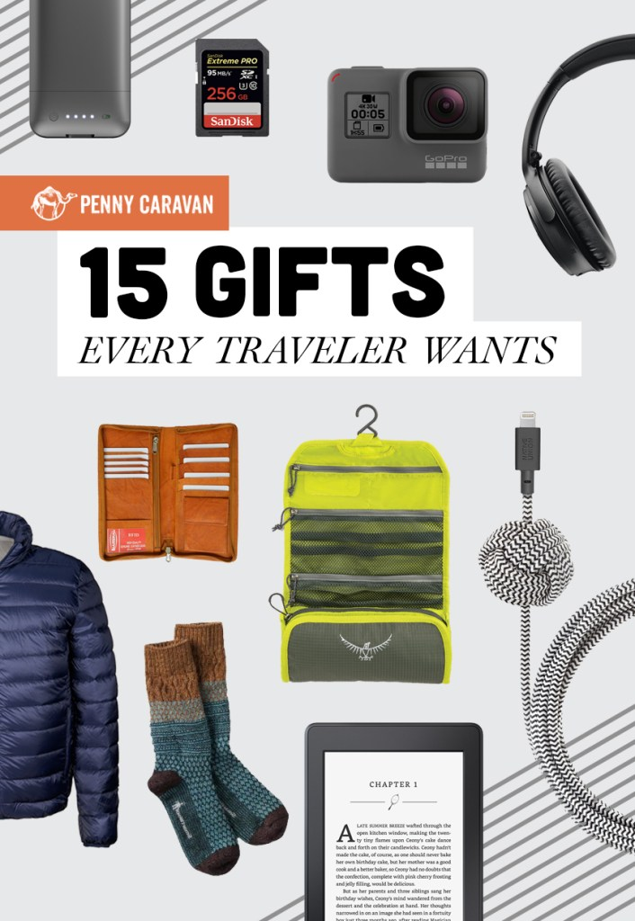 15 Gifts Every Traveler Wants | Penny Caravan