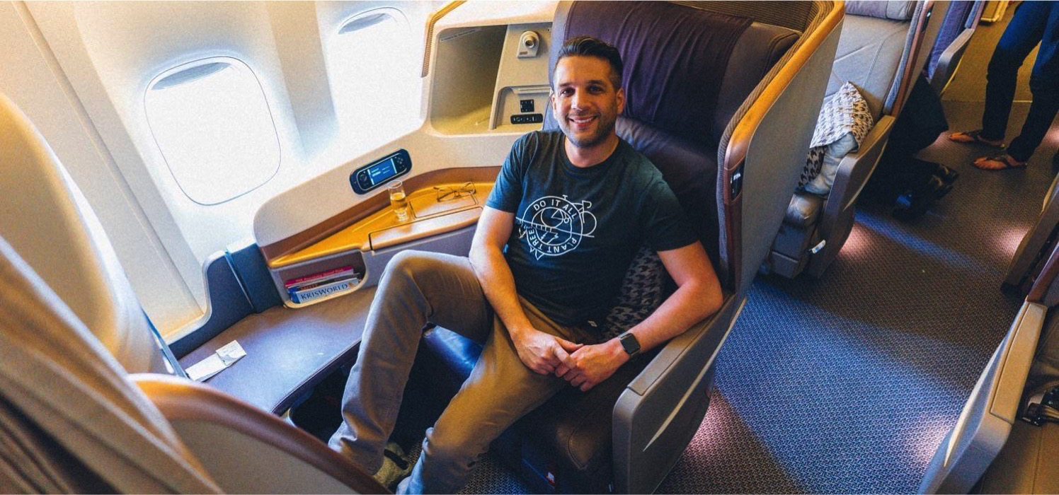 Review Singapore Airlines Business Class To Bali For Just