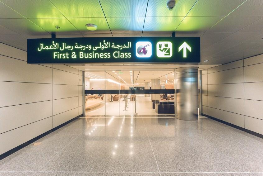 Qatar A350 BOS-DOH-66