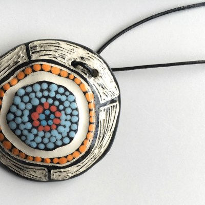 #629 Meeting Place Pendant