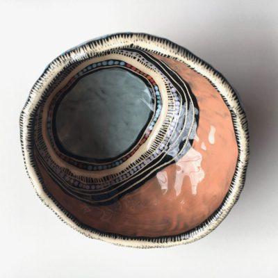 1022 Meeting Place ceramic Pot