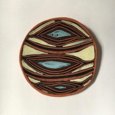 1063 Yahmbah - carpet Snake Wall Plate