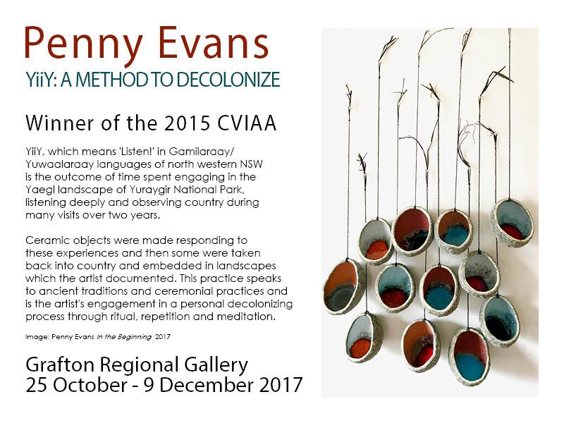 YiiY: A method to Decolonize – Grafton Regional Gallery – 25 Oct – 9 Dec 2017