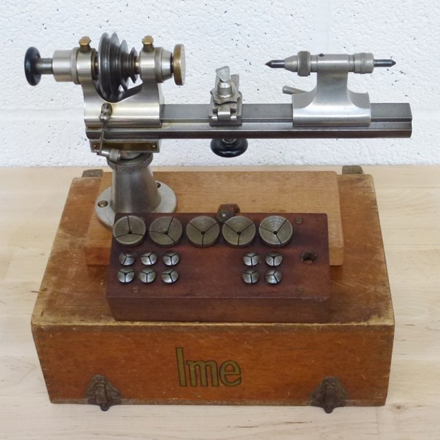 IME WATCHMAKERS 8 MM LATHE