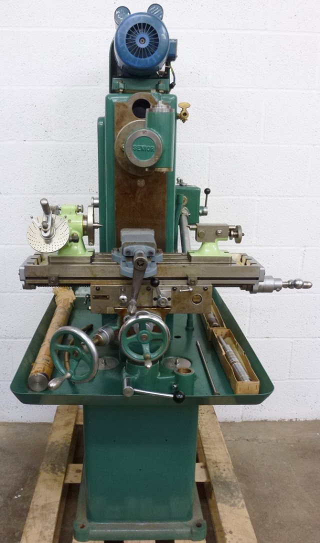 TOM SENIOR  M1 VERTICAL  /  HORIZONTAL MILL