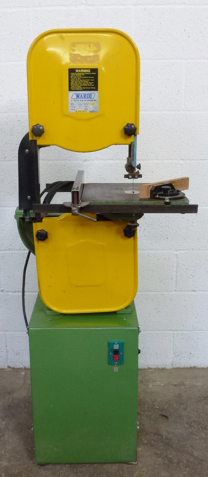 What blade length for this Warco bandsaw? | MIG Welding Forum