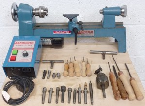 CARBA - TEC HM 2V WOOD TURNING LATHE