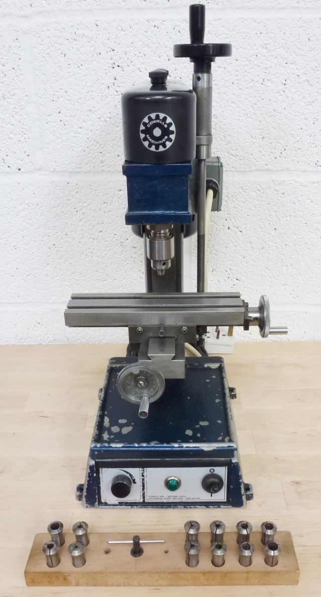 COWELLS VERTICAL MILLING MACHINE