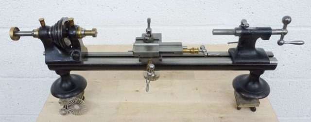 BOLEY & LEINEN WW PATEN LONG BED 8 MM INSTRUMENT LATHE