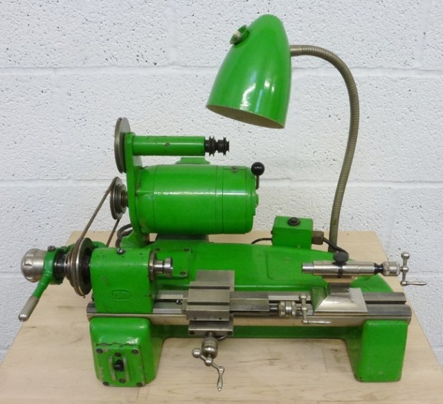 BOLEY & LEINEN WW 83 8 MM WATCHMAKERS AND INSTRUMENT LATHE