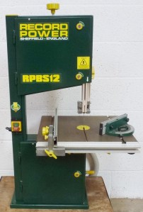 RECORD POWER RPBS12 BANDSAW