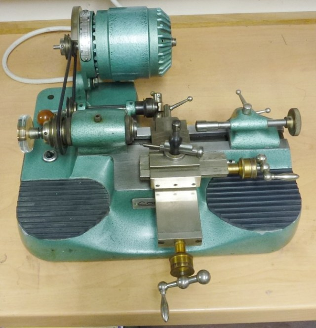 LORCH JUNIOR 8mm WATCHMAKERS LATHE