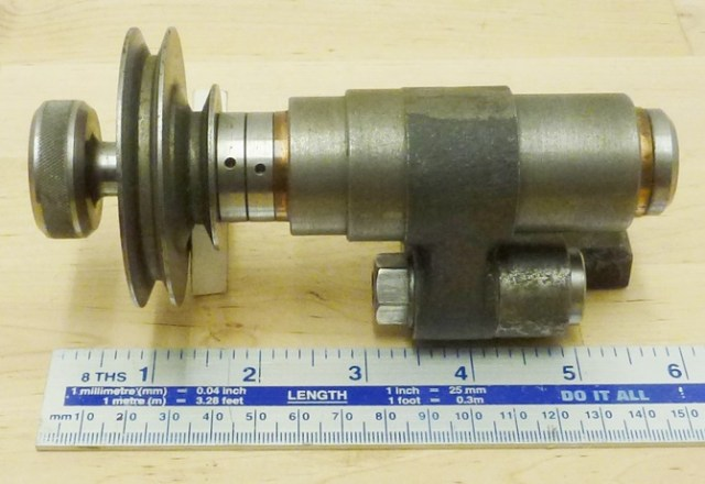 POTTS MILLING AND DRILLING SPINDLE