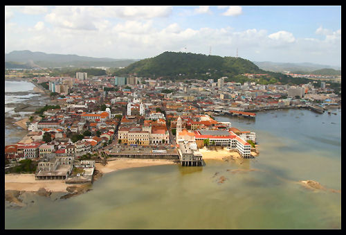 Casco Viejo from the bay side