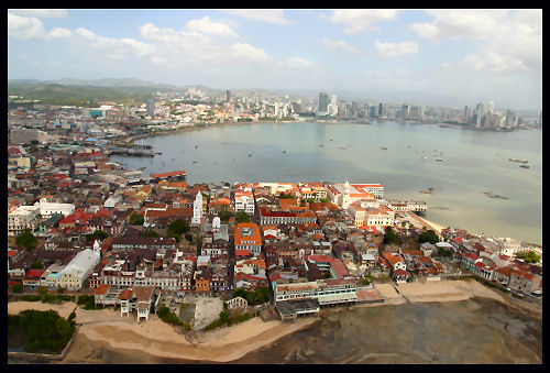 Casco Viejo from the West