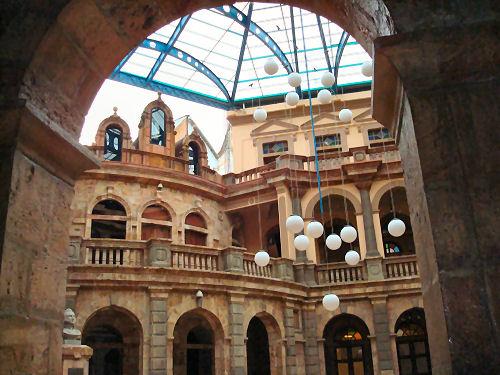 Interior Courtyard of Supreme Court Building