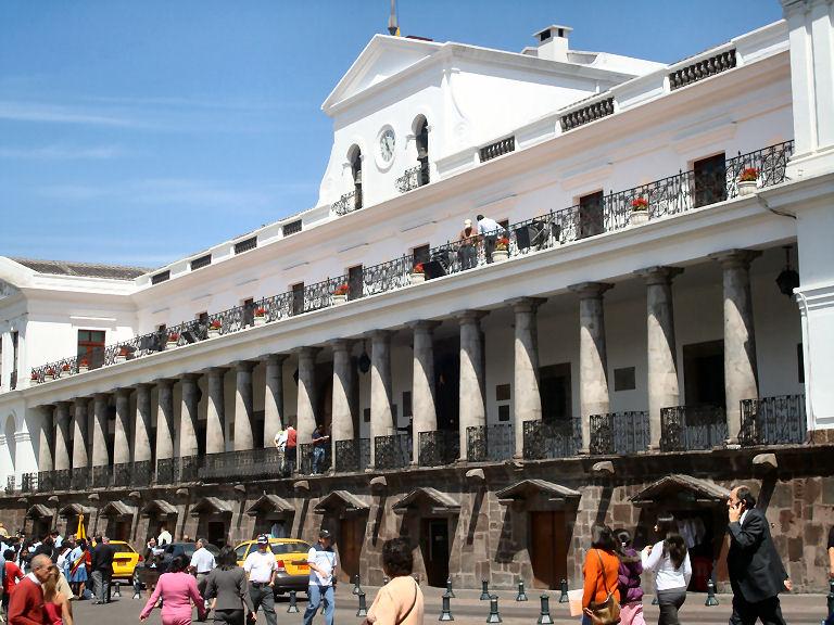 Municipal Building in Quito