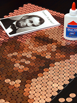 Penny Portrait Kit Assembly - Abe Lincoln