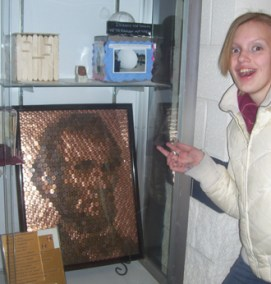 Jordan from Roundlake IL with her Penny Portrait