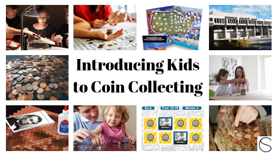 Great post about introducing kids to coin collecting! (Featuring Penny Portrait Kits!)
